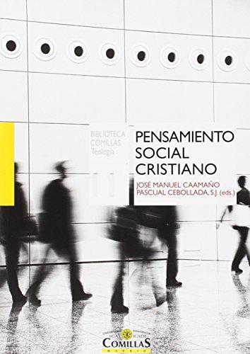 Pensamiento Social Cristiano (Biblioteca Comillas, Teología)