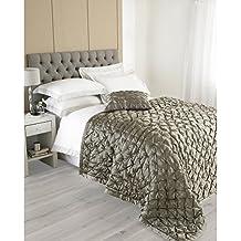 paoletti riva limoges couvre lit taupe 240 x 250 cm - Dessus De Lit Taupe