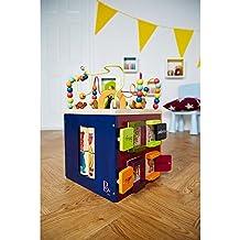B. Zany Zoo Wooden Activity Cube Fun Toy