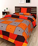 #1: Amayra Home 3D Designer Printed 180TC Polycotton Single Bedsheet with 1 Pillow Cover