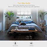 YI Überwachungskamera WLAN IP Dome Kamera 1080P Schwenkbar Sicherheitskamera mit Nachtsicht 2 Wege Audio Bewegungserkennung Baby Monitor für iOS/Andriod Fernbedienung - 4