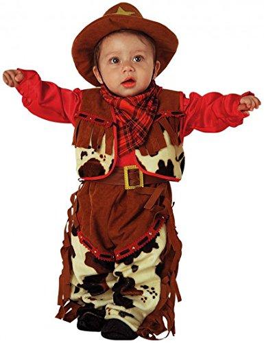 Cowboy Baby Kostüm 92 (2 (Baby Kostüm Cowboy)
