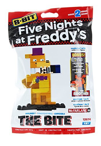 Five Nights at Freddy's 8-Bit Buildable Figure: The Bite