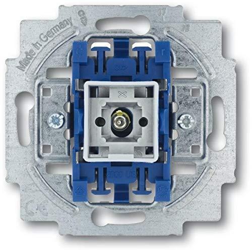 Wippkontrollschalter-Einsatz, Aus- und Wechselschaltung mit N-Klemme 2400/6 USK