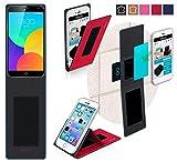 Meizu MX4 Pro Hülle in rot - innovative 4 in 1 Handyhülle