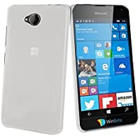 Muvit Crystal - Carcasa para Microsoft Lumia 650, transparente