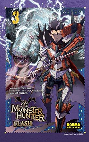 Monster Hunter Flash 03 por Keiichi ; Yamamoto, Shin Hikami