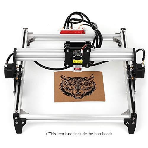 KKmoon Desktop DIY Lasergravurmaschine CNC Engraver Carver Laserdrucker mit Schutzbrille zum Schnitzen und Gravieren Arbeitsgröße: 395 mm x 285 mm (A3)