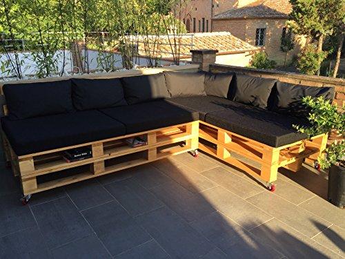 Divano Pallet Esterno : Arketicom cuscino pallet seduta divano bancali outdoor o cuscini per