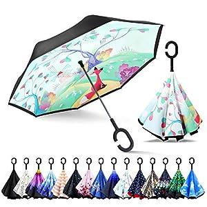 ZOMAKE Paraguas de Doble Capa