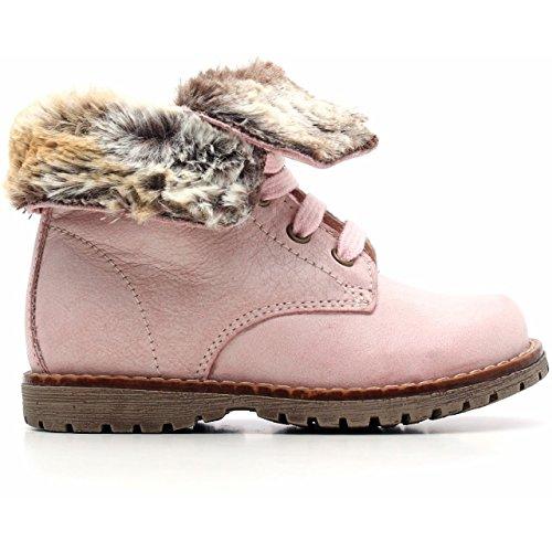 Nero Giardini Junior, Chaussures Premiers Pas pour bébé (Fille) Rose Rosa - Rose - Rosa (Brandon Shel Pink), 25 EU