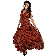 E instrucciones para hacer vestidos Flamenca, Gypsie de seguridad para anclaje en vestido, vestido de GEKKO