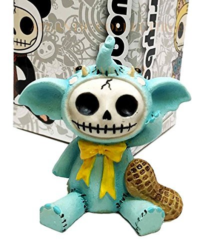 Preisvergleich Produktbild Furrybones Blue Elefun Peanut Elephant Skeleton Monster Ornament Figurine by FURRY BONES