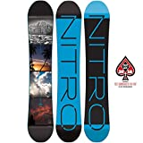 Nitro Snowboards Herren All-Mountain Board schwarz 157W