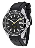Eberhard & Co Men's Scafograf 300 43mm Rubber Band Automatic Watch 41034.1