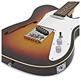 Guitare Électrique Knoxville/Semi-Hollow par Gear4music Sunburst