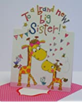 To a Brand New Big Sister Card Designed by Rachel Ellen