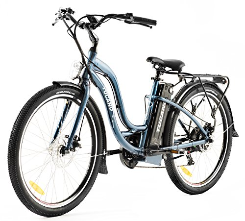 Tucano Bikes Monster X-Road. Bicicleta eléctrica •Reactive Sensor •Motor: 500W-48V •Velocidad máxima: 33 Km/h •Batería Samsung: 48V 12Ah (Blue Notte).