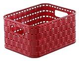 Rotho Aufbewahrungskorb, Kunststoff, rot