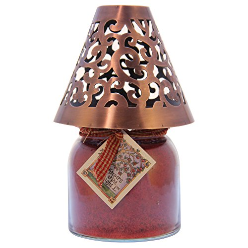 A Cheerful Giver Lampenschirm, viktorianischer Stil Viktorianisch Kupfer - Säule Viktorianischen Kerze