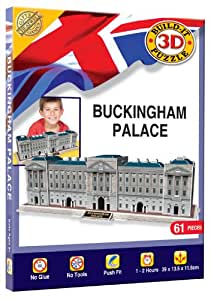 Cheatwell Games Buckingham Palace Build Your Own Giant 3D Kit