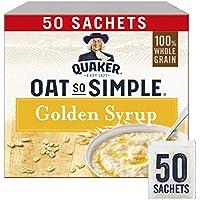Quaker Oat So Simple Golden Syrup Gachas de avena, 50 x 36 g