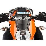 Ultimateaddons - Montage guidon moto et support dédié pour Apple iPhone 6 Plus - Kit Din Hella, -