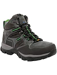 Regatta Mens Frontier Mid Fabric Lace Up Durable Walking Boots