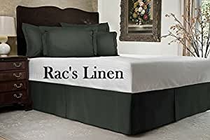 brand new bed skirt twin extra long 39 x 80 egyptian cotton 800 thread count quality. Black Bedroom Furniture Sets. Home Design Ideas