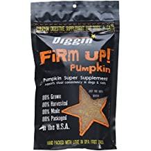Diggin Your Dog Firm Up Pumpkin Super Supplement for Digestive Tract Health for Dogs,