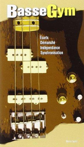 Tauzin Bruno Basse Gym Bass Guitar Book French.