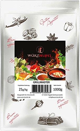 Grillmaster - original bayrisches Grill - und Bratengewürz a la Wiesn. Beutel 1000g.(1KG)