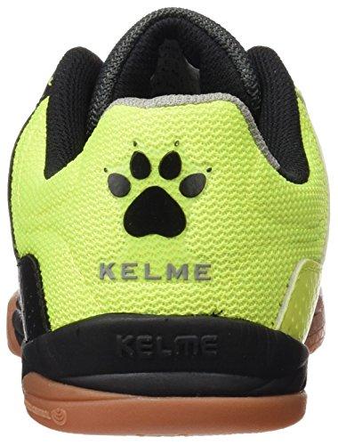 Kelme Intense 3.0, Chaussures de Football en Salle Homme Noir / Lima