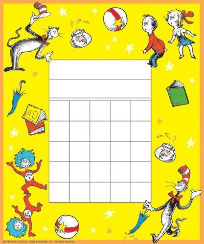 Eureka Dr. Seuss Game Mini Belohnung Charts mit Aufkleber, Paket von 36(837013) - Eureka Mini