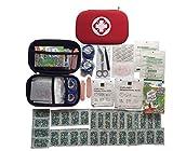 Erste-Hilfe-Set für Kinder - hochwertige medizinische Notfalltasche mit Handlungsanweisung für unterwegs, Kindergarten, Spielplatz, Wandern