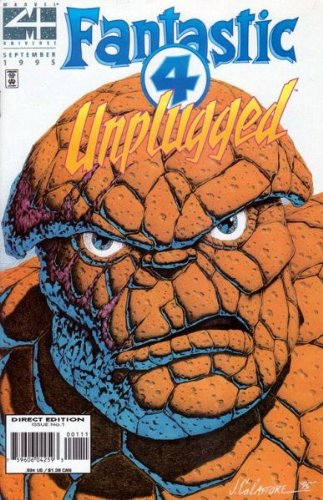 Fantastic Four Unplugged Issue 1 (September 1995) Adapt This