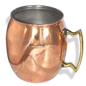 Copper Moscow Mule Mug Dutch Style: Amazon.co.uk: Kitchen