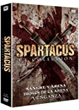 TRILOGY: GODS OF THE ARENA/BLOOD AND SAND/ VENGEANCE (TRILOGIA SPARTACUS: DIOSES DE ARENA+SANGRE Y ARENA+VENGANZA, Spanien Impor