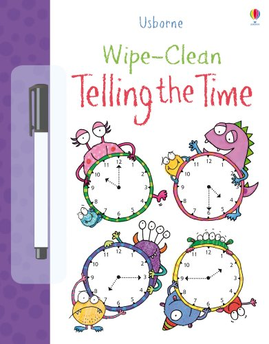 Wipe-Clean Telling the Time (Wipe-clean Books)