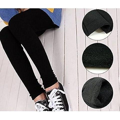 Set kit pack juego 3 leggins negros térmicos mujer chica felpa elásticos perfecto invierno mws1133 (M/L)