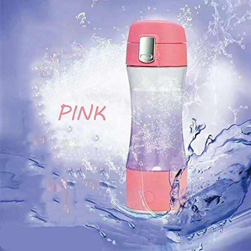 wasserstoff reichen trinkbecher, trinkbecher generator, aufladbare negative wasserstoff wasser, tragbare gesundheitsversorgung magnetisierung,08 Pink