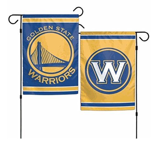 Wincraft NBA Golden State Warriors beidseitigen Garten Flagge, 12x 46