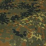 TOLKO Bundeswehr Camouflage-Stoff als Meterware,
