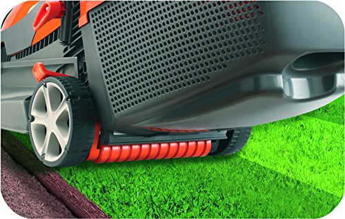 Flymo Chevron 34 VC Electric Wheeled Rotary Lawnmower, 1400W