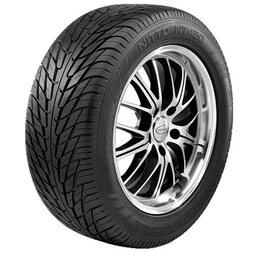 Nitto (Series NT 450 Extreme) 195 – 50 – 15 Radial Tire by nitto (Nt-serie)