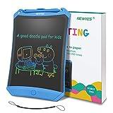 Bunte LCD Schreibtafel NEWYES 8,5  hellere Schrift mit Anti-Clearance Funktion und Dicke Linien,Magnete,String,Stift pap