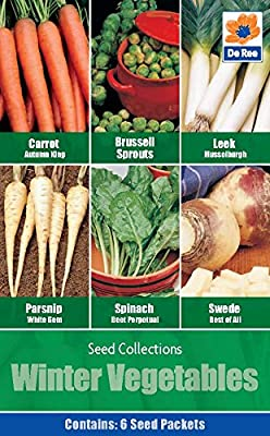 Winter Vegetables Seed Collections, 6 Vegetable Varieties : everything five pounds (or less!)