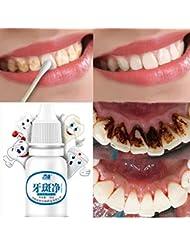 IGEMY 10 ML Teeth Whitening Hygiene Cleaning Teeth Care Tooth Cleaning Whitening Water (White)