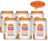 Gluco Tabs Tangy Orange - 50 Tablets (PACK-6)