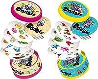 Retrouvez le Dobble dans une nouvelle aventure Junior qui va faire 2 fois plus plaisir à votre enfant et à toute la famille ! Dobble Junior rassemble deux boites de jeu complètement nouveaux et inédits : un Dobble Food pour des envies gourmandes avec...